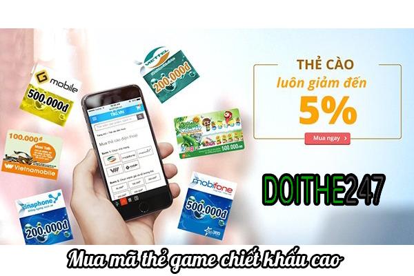 Cách mua thẻ game trực tuyến giá rẻ nhất
