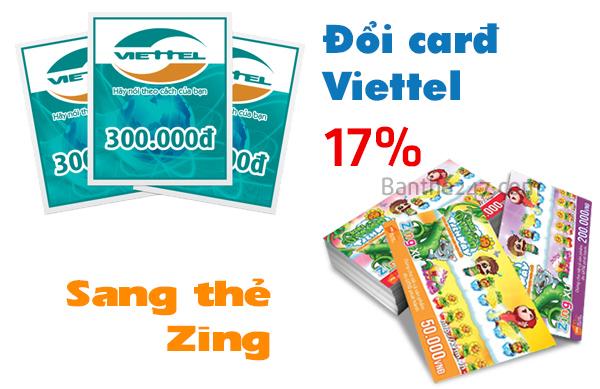 Cách đổi thẻ viettel sang zing an toàn, tiện lợi