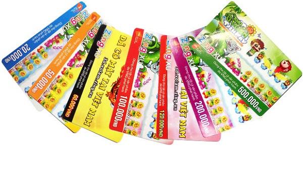 Các mệnh giá thẻ zing phổ biến hiện nay