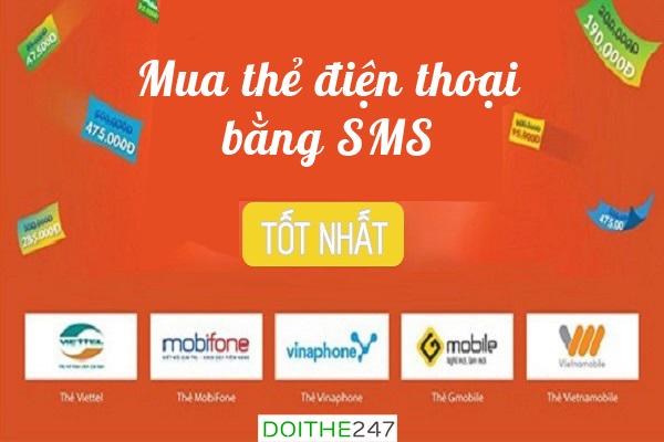 Dừng mua mã thẻ điện thoại bằng sms. Đâu là giải pháp thay thế?