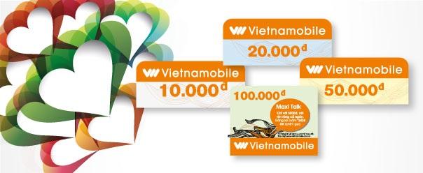 Cách nạp tiền điện thoại Vietnamobile